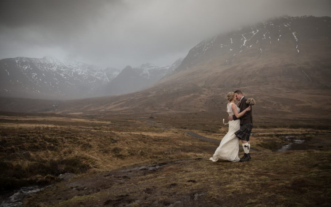 Eloping to Skye and Dodging the Rain