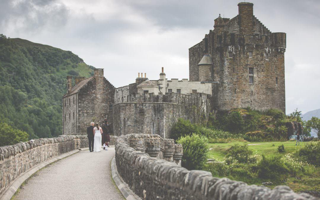 Elopement at Eilean Donan Castle